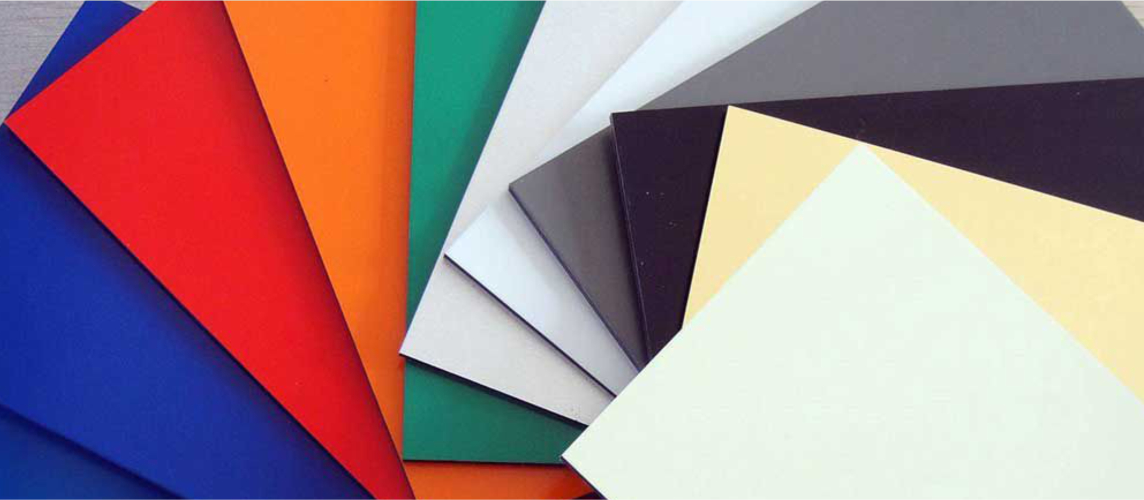 Glossy Mengkilap Aluminium Composite Panel ex Seven Ready All Color