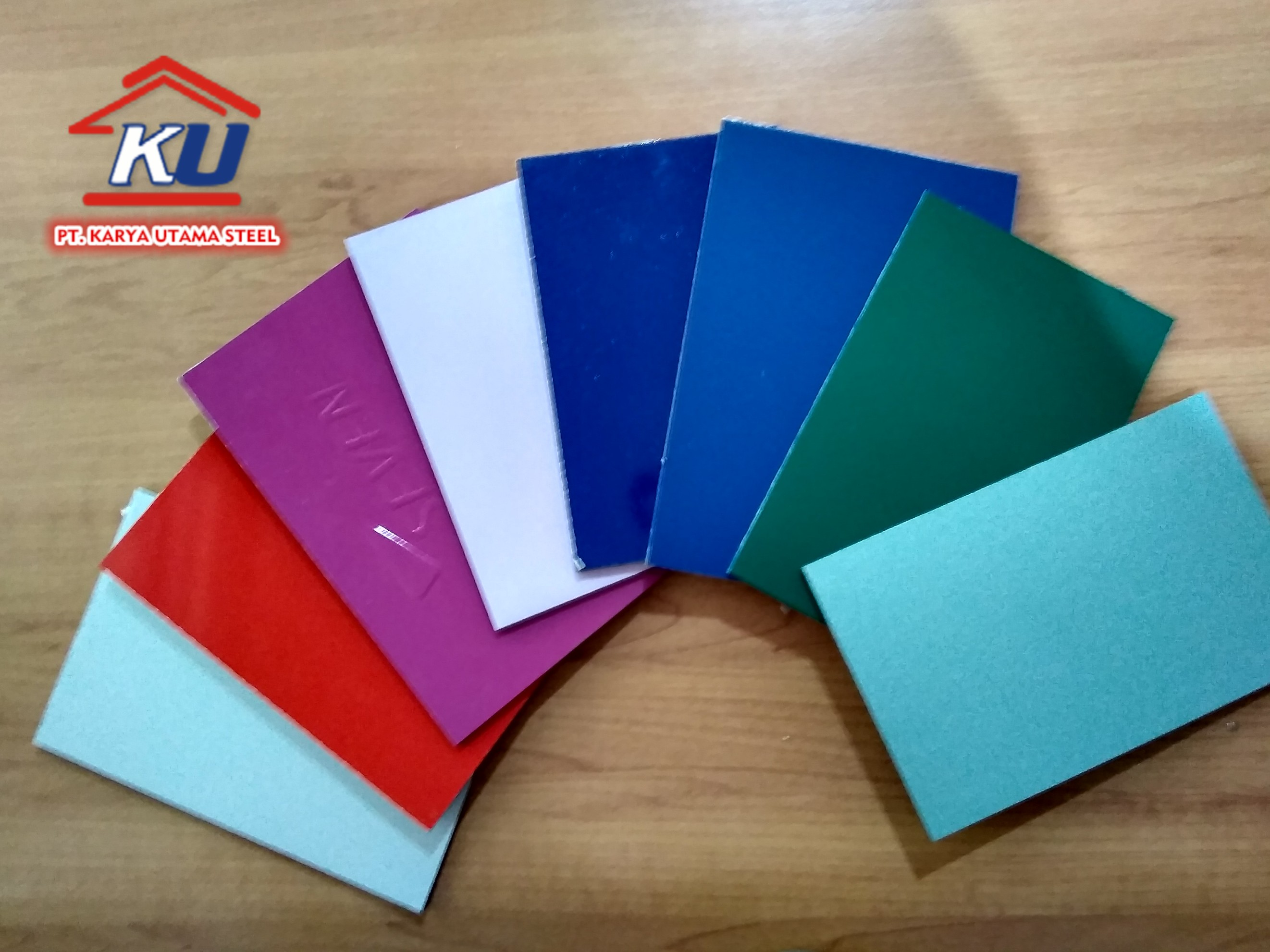Coating 0,3 mm Aluminium Composite Panel ex Seven Murah Ready Stock